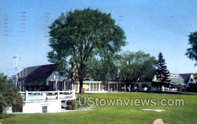 Flint Country Club - Michigan MI Postcard