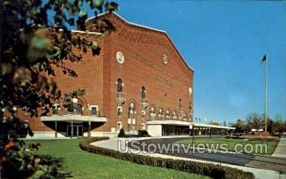 I. M. A. Auditorium - Flint, Michigan MI Postcard
