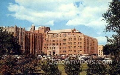 St. Joseph Hospital - Flint, Michigan MI Postcard