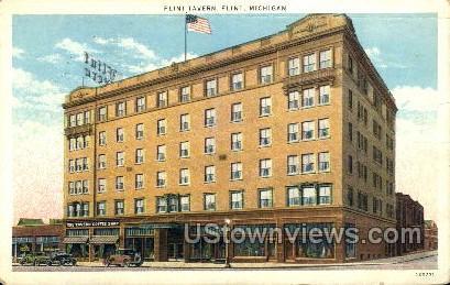 Flint Tavern - Michigan MI Postcard