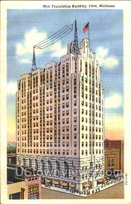 Mott Foundation Building - Flint, Michigan MI Postcard
