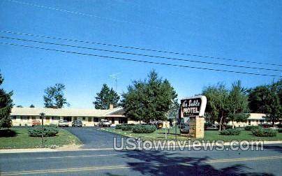 Au Sable Motel - Grayling, Michigan MI Postcard