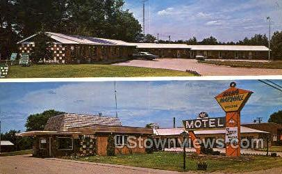 Motel Marshall - Grayling, Michigan MI Postcard