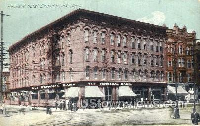 Pantland Hotel - Grand Rapids, Michigan MI Postcard