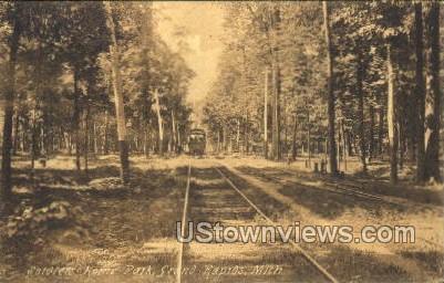 Soldiers Home Park - Grand Rapids, Michigan MI Postcard