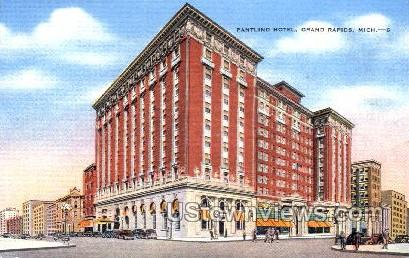 Pantlind Hotel - Grand Rapids, Michigan MI Postcard