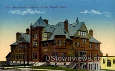 Butterworth Hospital - Grand Rapids, Michigan MI Postcard