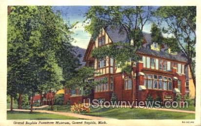Grand Rapids Furniture Museum - Michigan MI Postcard
