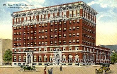 New Y. M. C. A. Building - Grand Rapids, Michigan MI Postcard