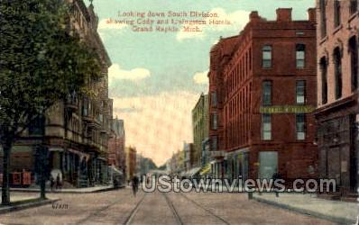 Cody and Livingston Hotels - Grand Rapids, Michigan MI Postcard