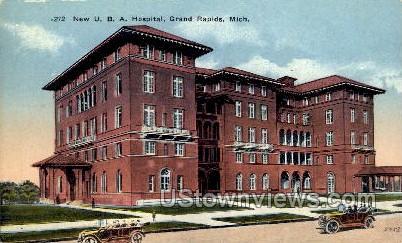 New U.B.A Hospital - Grand Rapids, Michigan MI Postcard