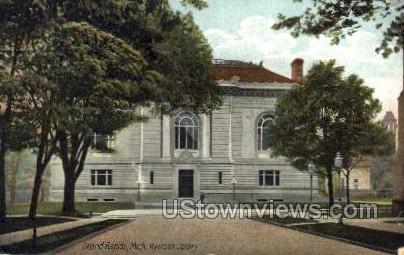 Mich Ryerson Library - Grand Rapids, Michigan MI Postcard