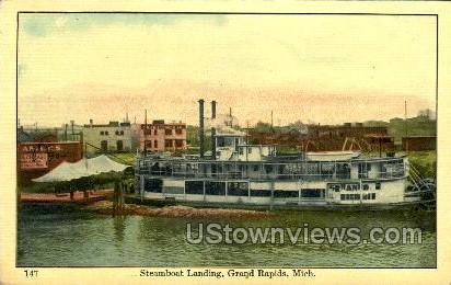 Steamboat Landing - Grand Rapids, Michigan MI Postcard