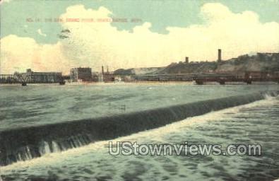 The Dam - Grand Rapids, Michigan MI Postcard