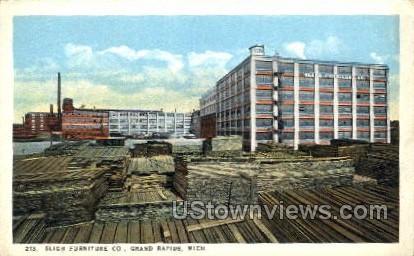 Sligh Furniture Co. - Grand Rapids, Michigan MI Postcard