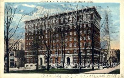 Y.M.C.A Building - Grand Rapids, Michigan MI Postcard