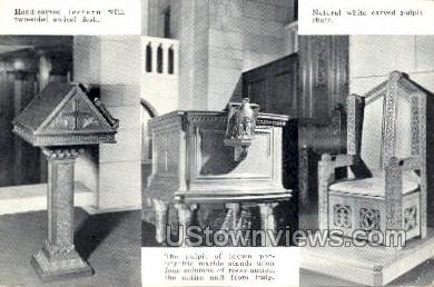 Fountain Street Baptist Church - Grand Rapids, Michigan MI Postcard