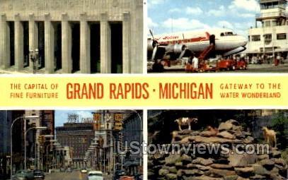 Grand Rapids - Michigan MI Postcard