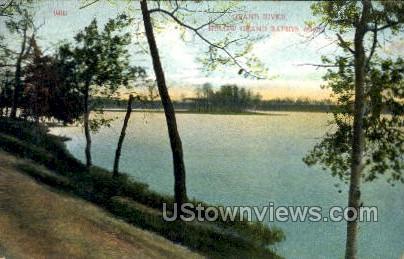 Below Grand Rapids - Michigan MI Postcard