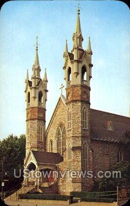 The Cathedral Church of St. Mark - Grand Rapids, Michigan MI Postcard