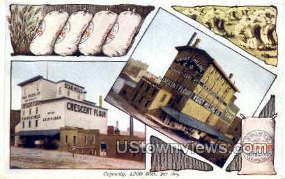 Voigt Milling Co, Crescent Flour - Grand Rapids, Michigan MI Postcard