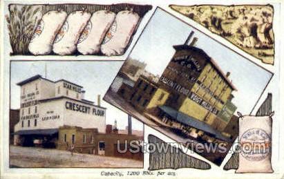 Voigt Milling Co - Grand Rapids, Michigan MI Postcard