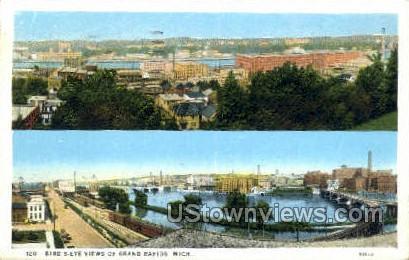 Grand Rapids, Michigan, MI, Postcard