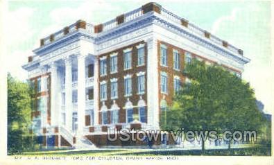 D.A. Blodgett Home for Children - Grand Rapids, Michigan MI Postcard