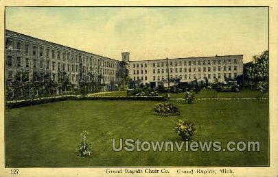 Grand Rapids Chair Co. - Michigan MI Postcard