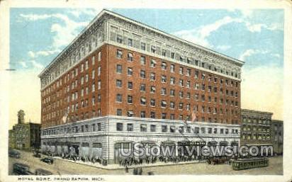 Hotel Rowe - Grand Rapids, Michigan MI Postcard