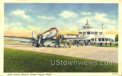 Kent County Airport - Grand Rapids, Michigan MI Postcard