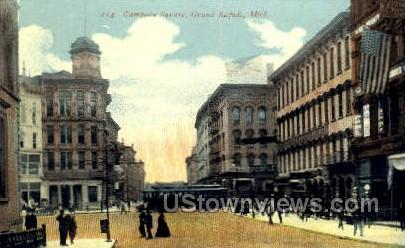 Campean Square - Grand Rapids, Michigan MI Postcard