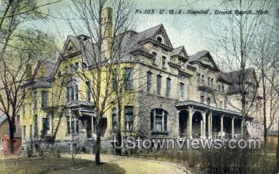 U.B.A. Hospital - Grand Rapids, Michigan MI Postcard