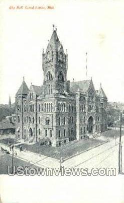 City Hall - Grand Rapids, Michigan MI Postcard