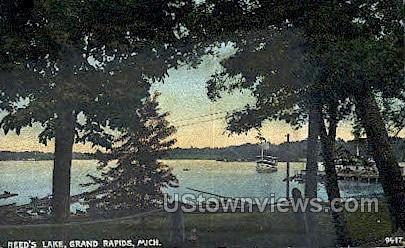 Reed's Lake - Grand Rapids, Michigan MI Postcard
