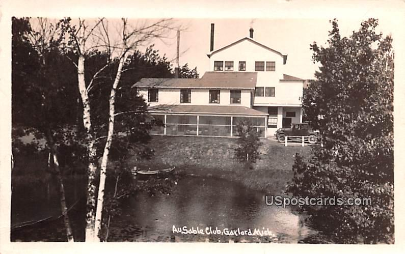 Ausable Club - Gaylord, Michigan MI Postcard
