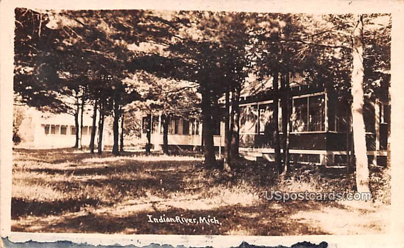 Indian River, Michigan MI Postcard