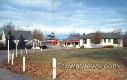 Arbor Hills Motel - Jackson, Michigan MI Postcard