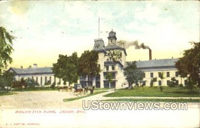 Michigan State Prison - Jackson Postcard