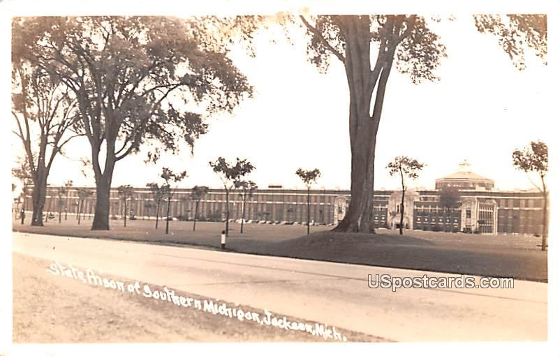 State Prison of Southern Michigan - Jackson Postcard