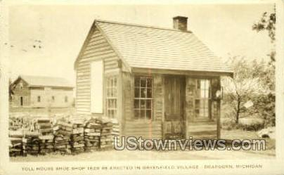 Toll House Shoe Shop - Dearborn, Michigan MI Postcard