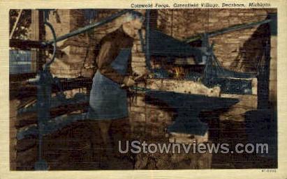 Cotswold Forge - Dearborn, Michigan MI Postcard