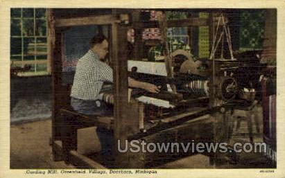 Carding Mill - Dearborn, Michigan MI Postcard