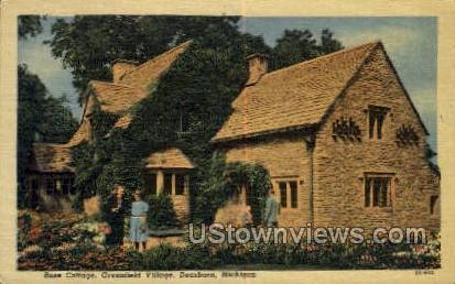 Rose Cottage - Dearborn, Michigan MI Postcard