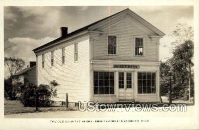 Old County Store, 1854 - Dearborn, Michigan MI Postcard