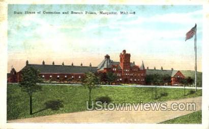 State House of Correction  - Marquette, Michigan MI Postcard