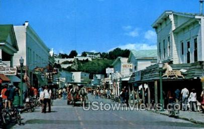 Mackinac Island - Michigan MI Postcard