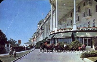 The Grand Hotel - Mackinac Island, Michigan MI Postcard