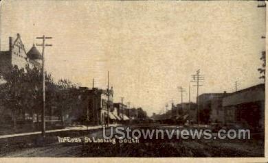 McEwan Street - MIsc, Michigan MI Postcard