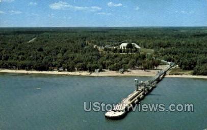 U.S. Gypsum Co. - Alabaster, Michigan MI Postcard